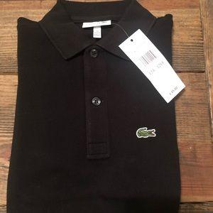 Lacoste Shirts & Tops - Lacoste boys polo sz 12 NEW